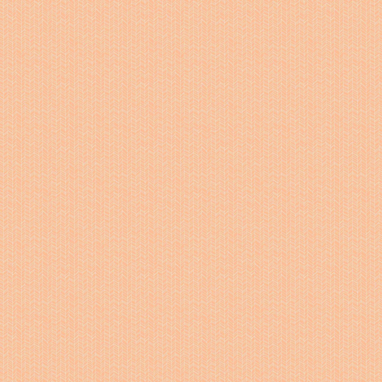 FIGO Fabrics Mountain Meadow CHEVRON (Coral)