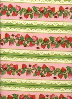 Strawberry Shortcake Flannel from SPX Fabrics