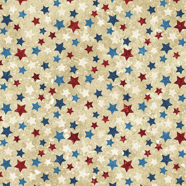 Northcott Stonehenge STARS & STRIPES VII