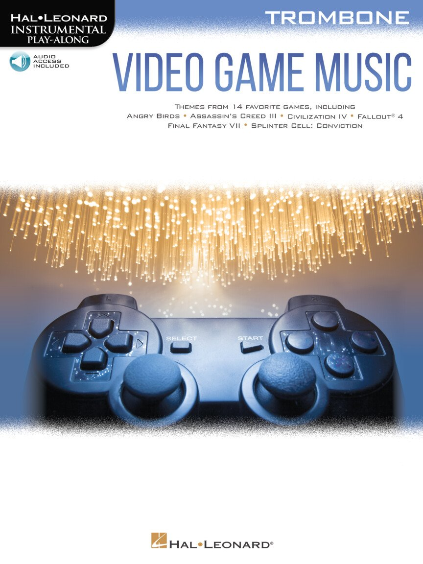 Video Game Music for Trombone - Instrumental Play Along Series