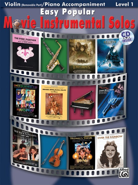 Easy Popular Movie Instrumental Solos for Violin