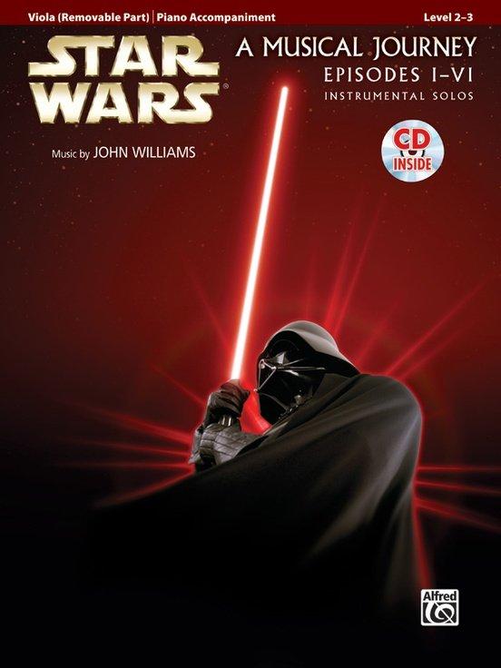 Star Wars Instrumental Solos for Viola (Movies I-VI)