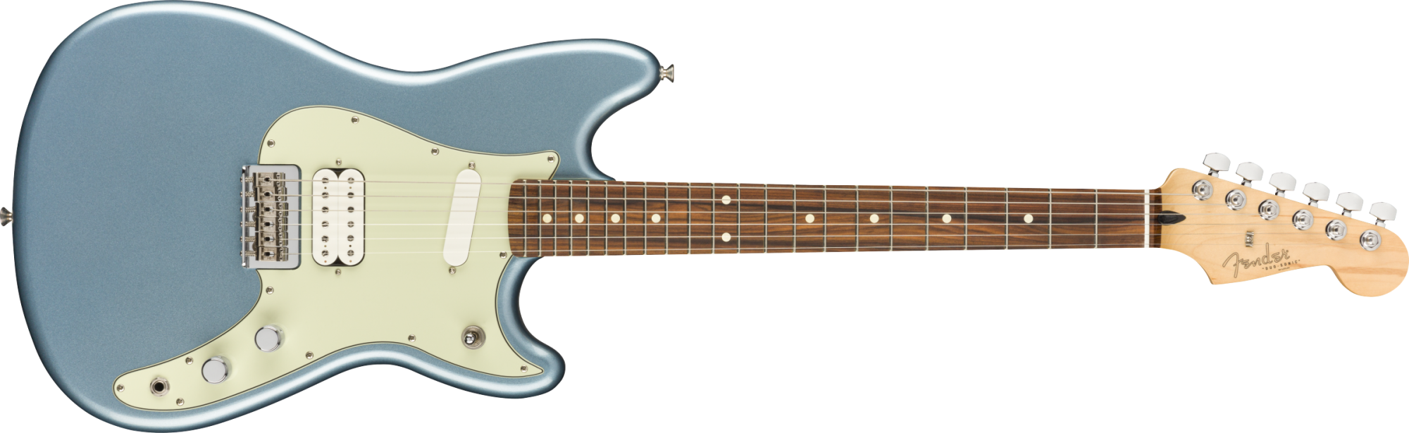 Fender Player Duo Sonic HS - Pao Ferro Fingerboard - Ice Blue Metalic