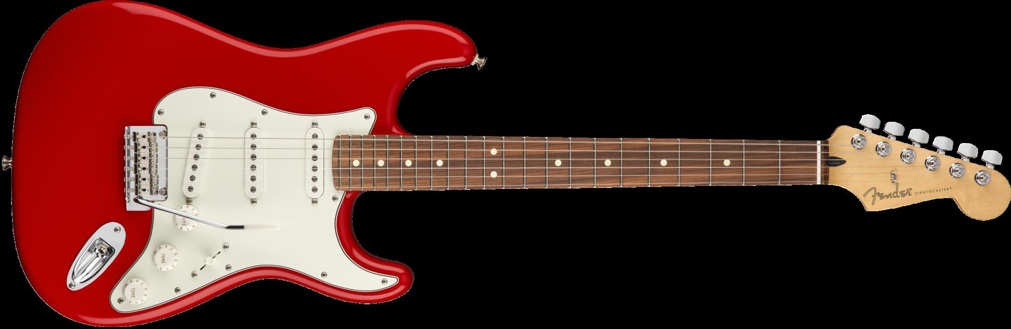 Fender Player Stratocaster - Pau Ferro Fingerboard - Sonic Red