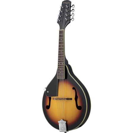 Stagg M20-LH Bluegrass Mandolin with Basswood Top - Violin Burst - Left-handed