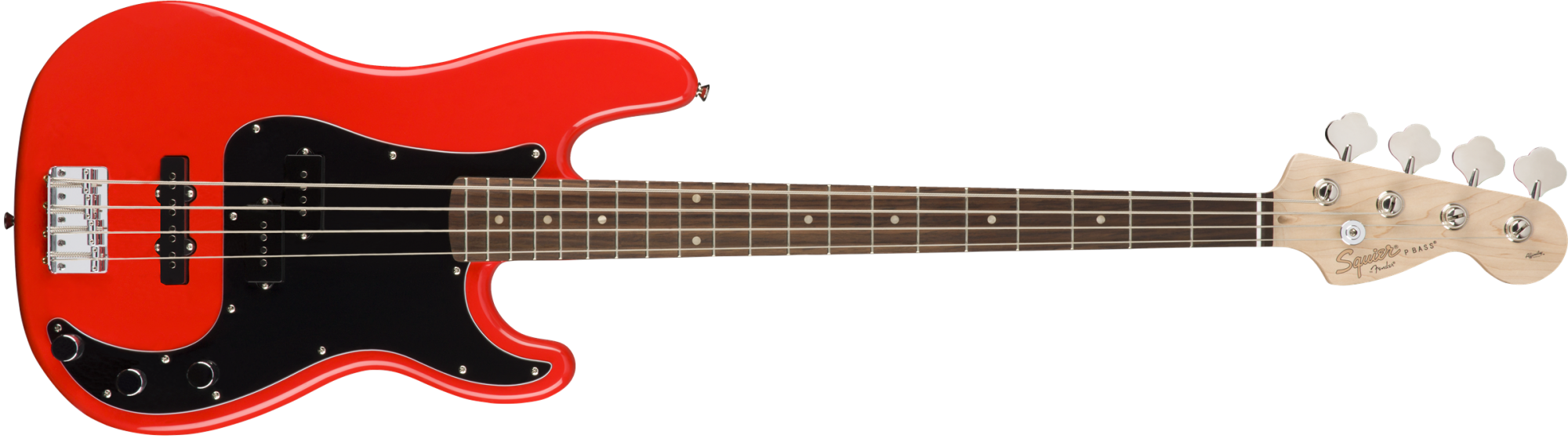 Squier Affinity Series Precision Bass PJ Laurel Fingerboard Race Red