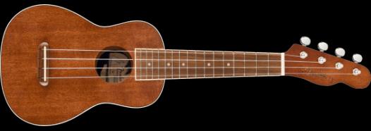 Fender Seaside Soprano Soprano Ukelele Pack
