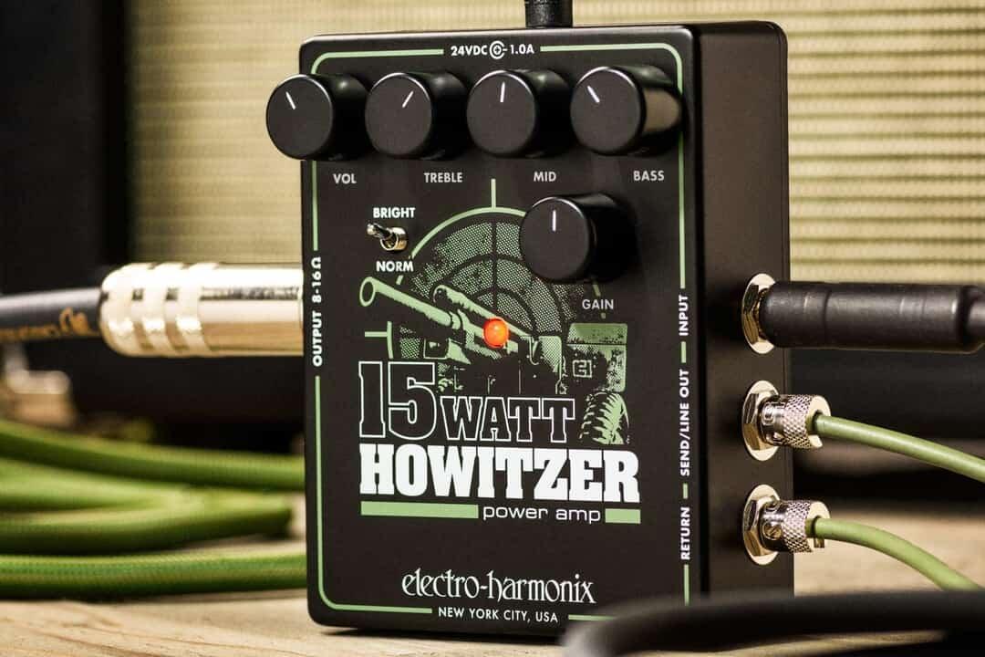 Electro-Harmonix 15 Watt Howitzer Power Amp