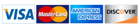 Accepted Payment: Mastercard, Visa, Discover, American Express