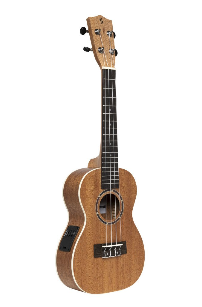 Stagg Acoustic/Electric Concert Ukulele w/Sapele Top and Gigbag