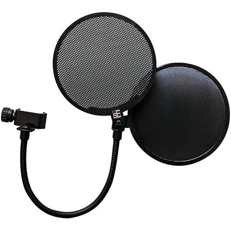 sE Electronics Dual Pop Filter w/ Fabric and metal shield