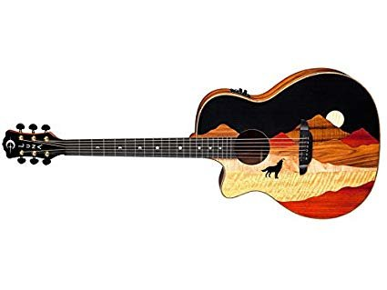 Vista Wolf Tropical Wood Lefty w/Case