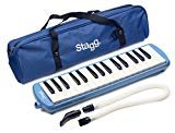 Stagg 32 Key Melodica - Blue w/bag
