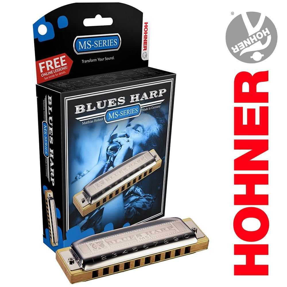 Hohner Blues Harp Ms-Series Key of A