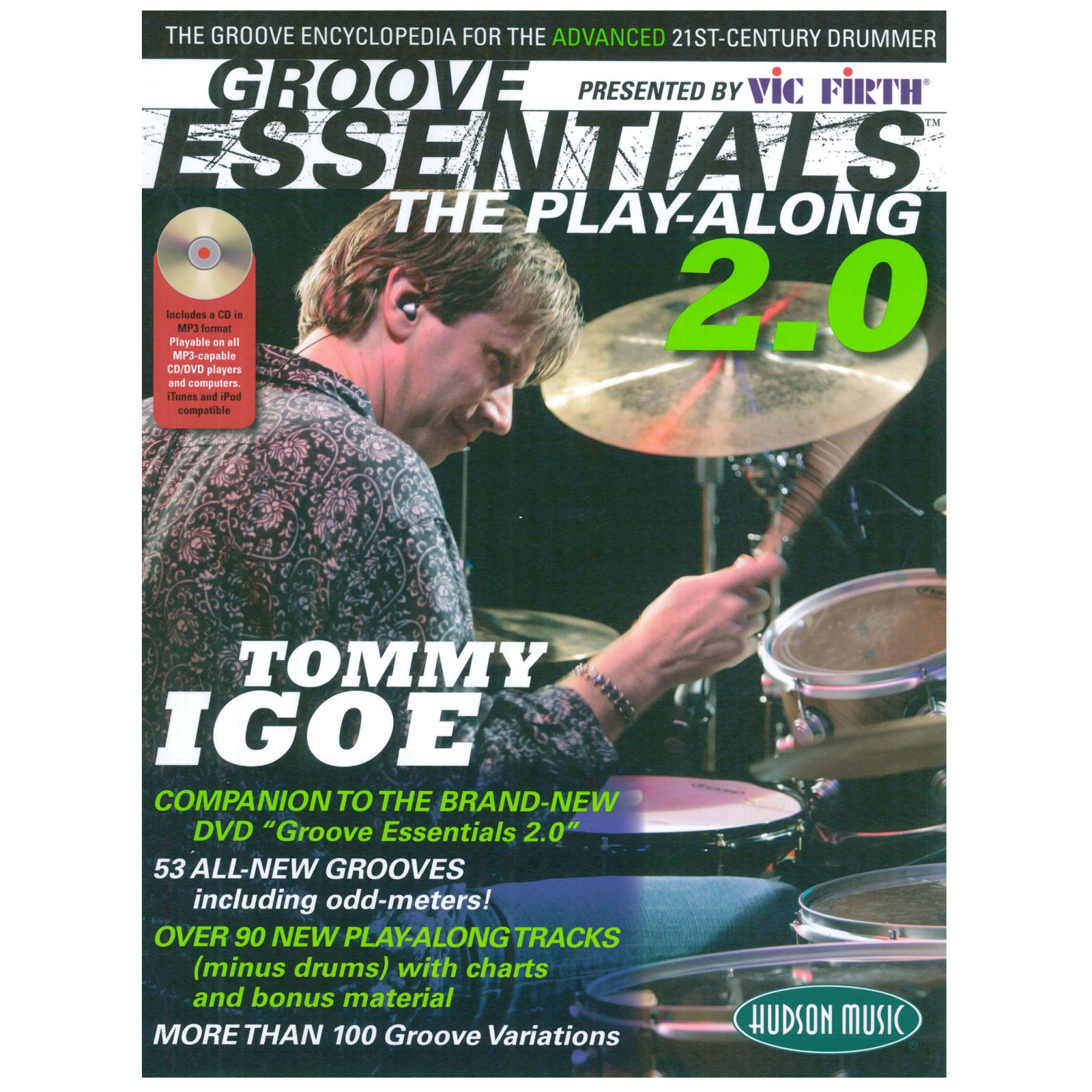Tommy Igoe: Groove Essentials - The Play-along 2.0. Drums Sheet Music CD