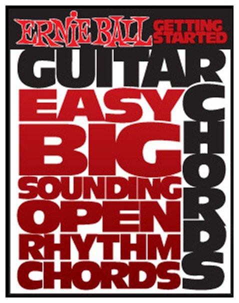 Ernie Ball Getting Started Guitar Chords