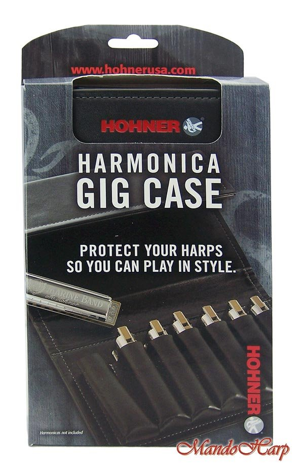 Hohner Gig Case - Carrying Case for up to 7 Harmonicas