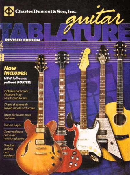 Charles Dumont & Son Inc. - Blank Guitar Tablature Book