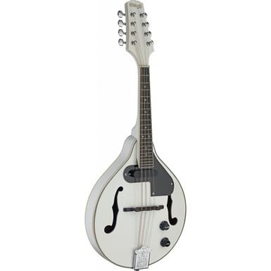 Stagg M50 E Wh Acoustic/Electric White Bluegrass Mandolin