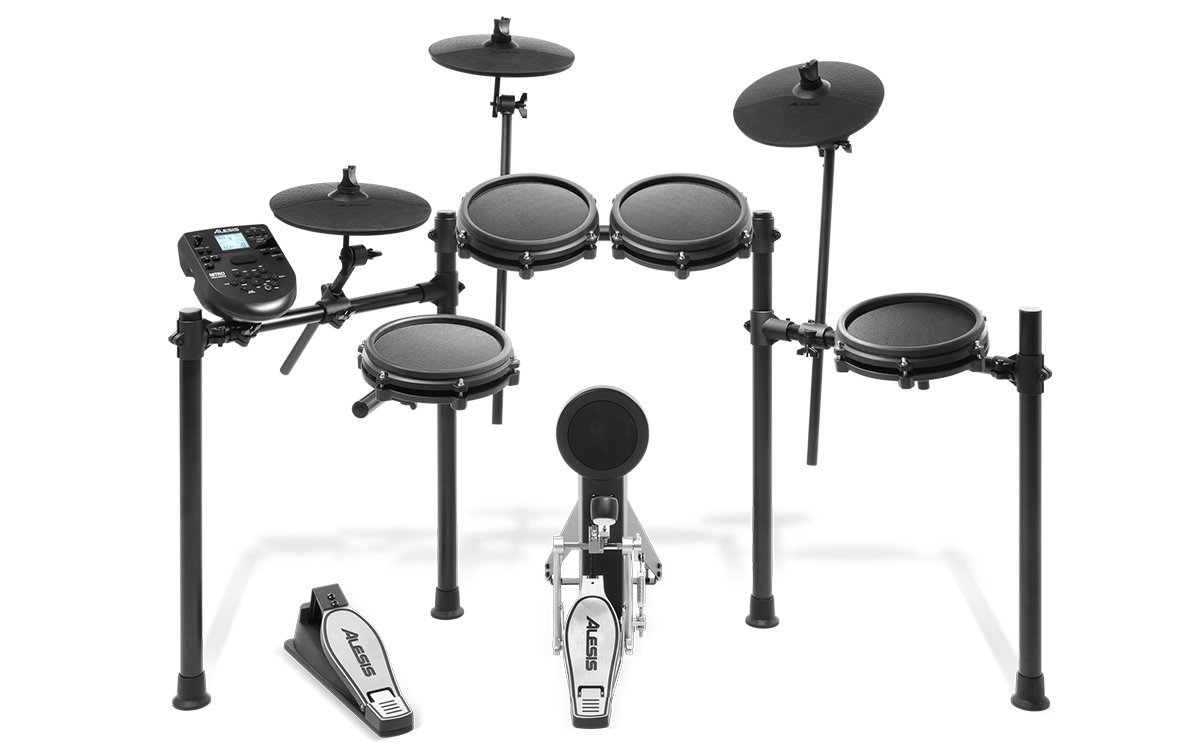 Alesis Nitro Mesh 8-Piece Electronic Drum Kit With Mesh Heads
