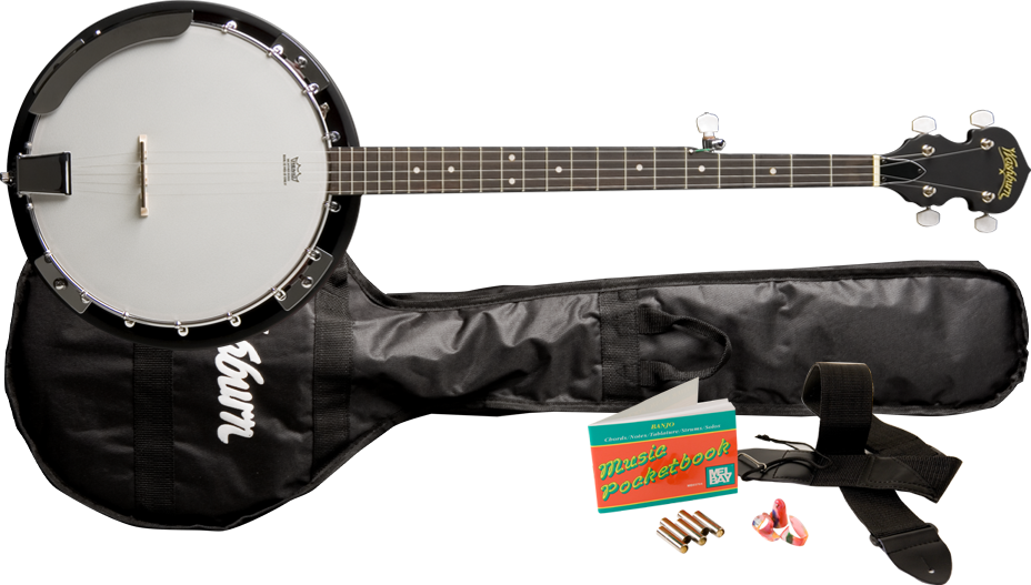 Washburn B8k-a Banjo Pack Natural