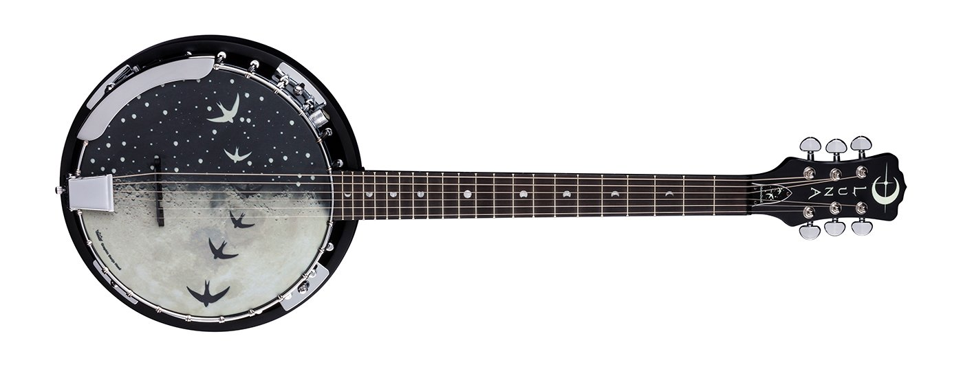 Moonbird Banjo 6-String w/Pickup