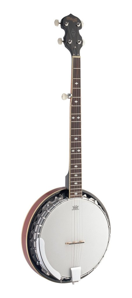 Stagg 5-string Bluegrass Banjo Deluxe with metal pot