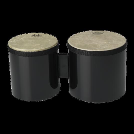 Remo 6/7 Black Bongo Set