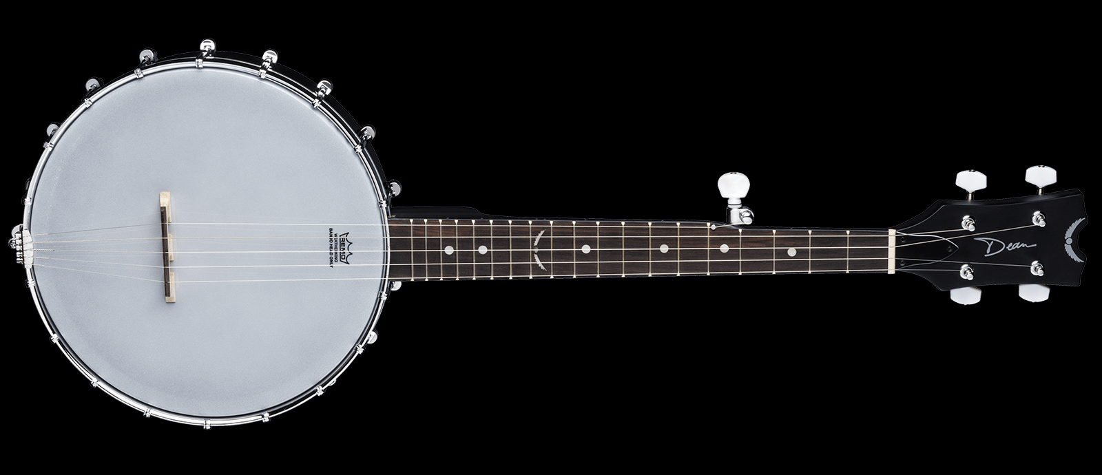 Dean BW Mini BKS Backwoods Mini Travel Banjo BKS