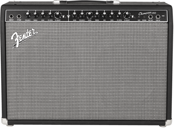 Fender Champion 100 Guitar Amplifier with 2 x 12 Speakers