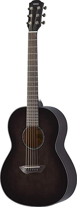 Yamaha CSF1M Compact Folk Guitar -  Transparent Black w/Case