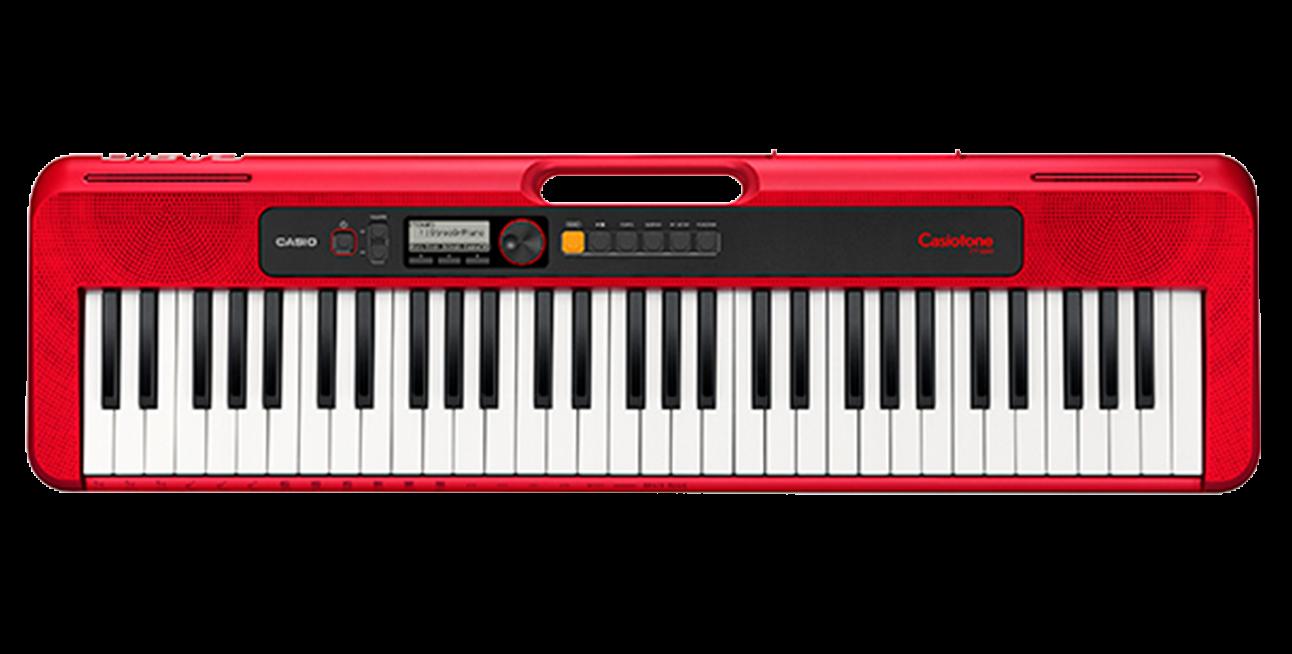 Casio Casiotone Ct-S200RD 61-Key Digital Keyboard Red