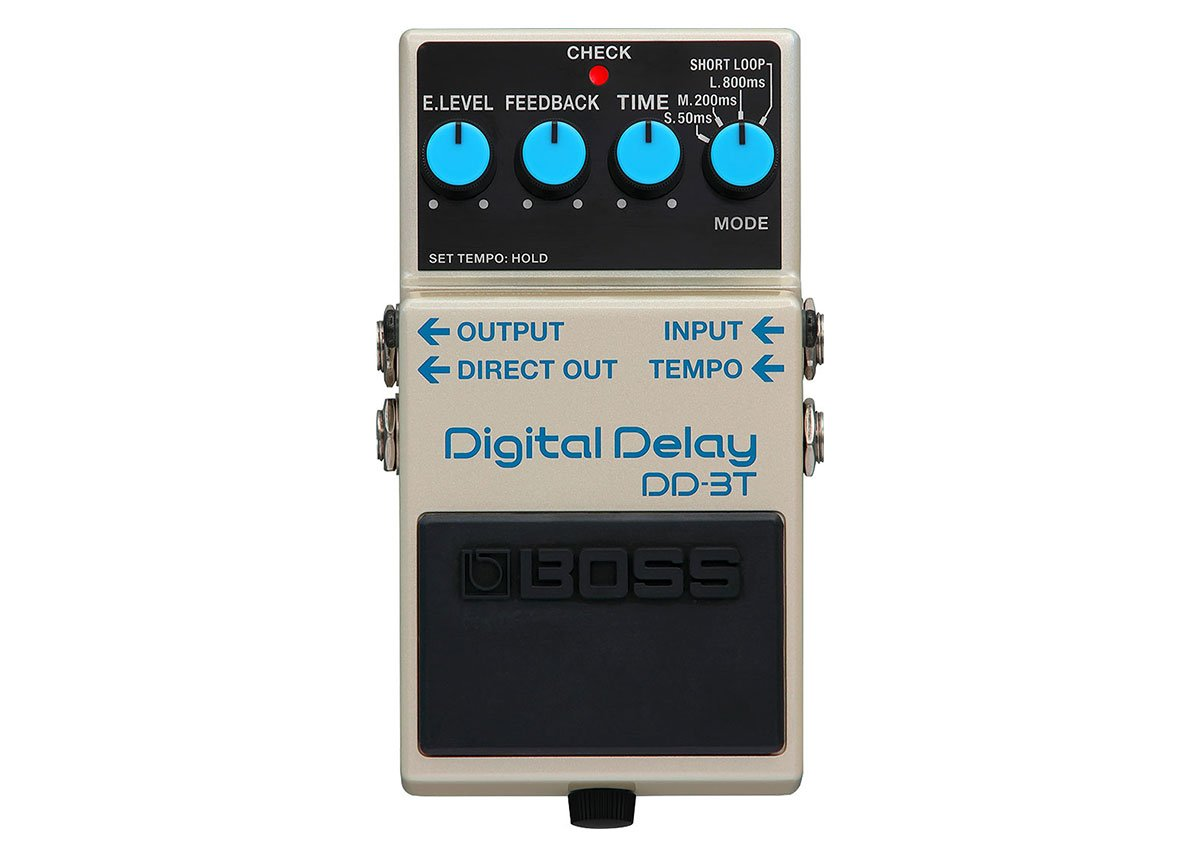 Boss DD-3T Digital Delay Effect Pedal