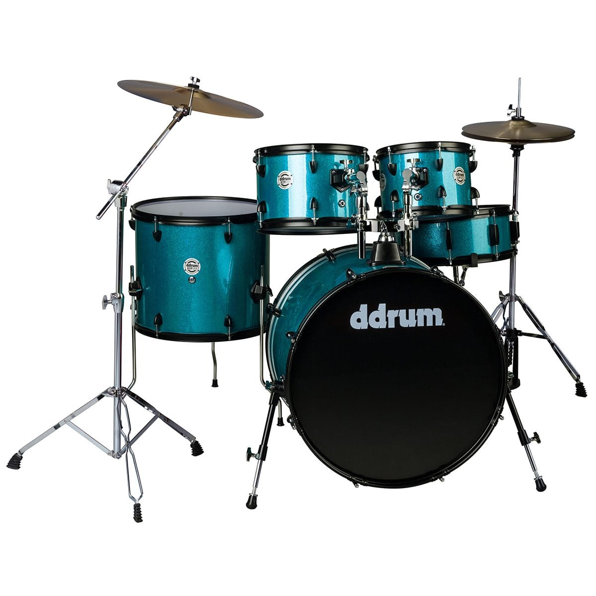 DDrum D2P-5pc- Blue Sparkle - Complete kit