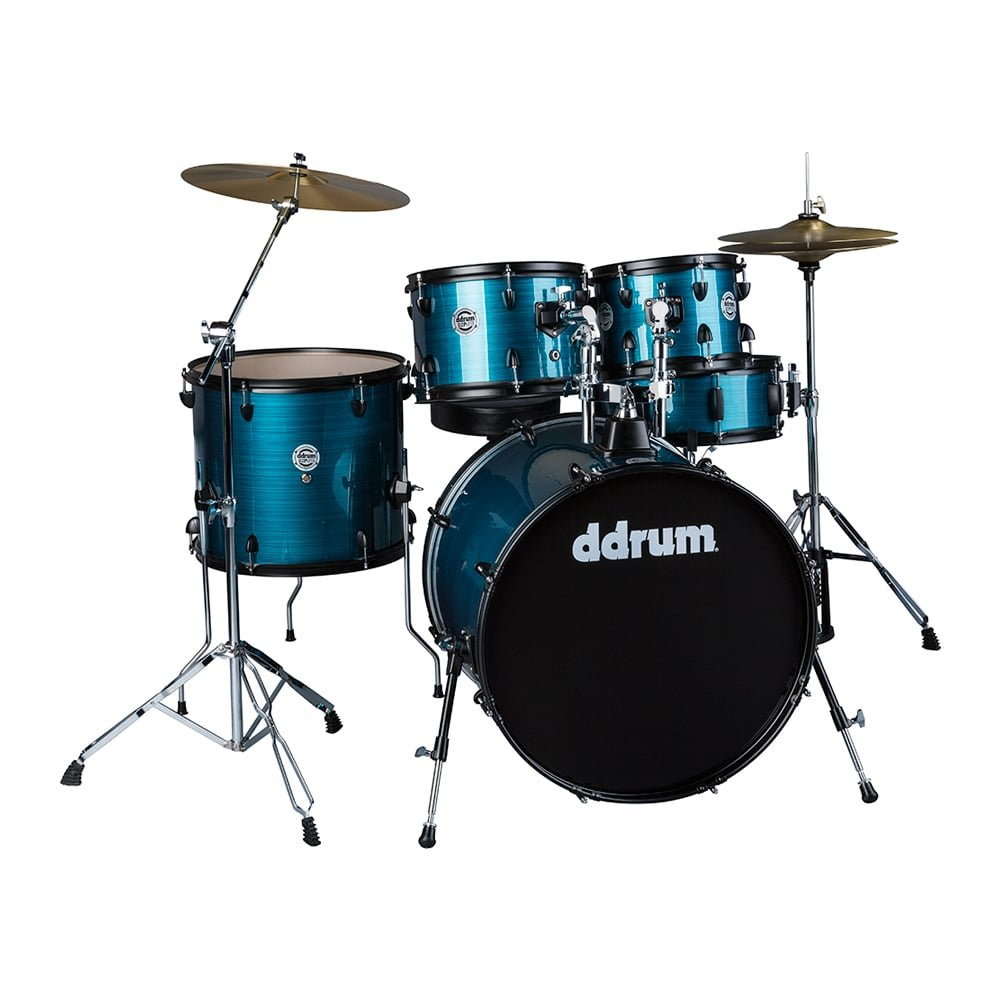 DDrum D2P - 5pc Blue Pinstripe - Complete Kit