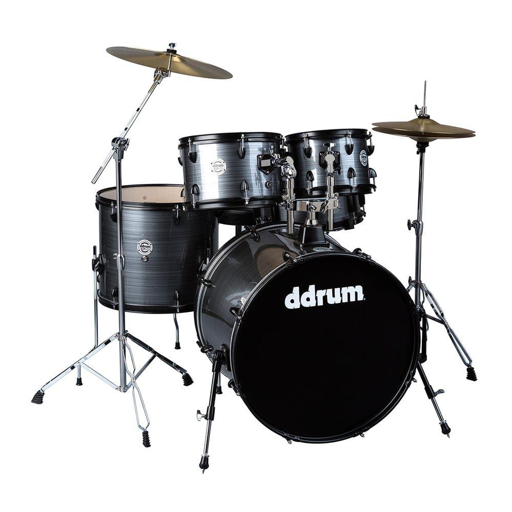 DDrum D2P - 5pc - Grey Pinstripe- Complete Kit