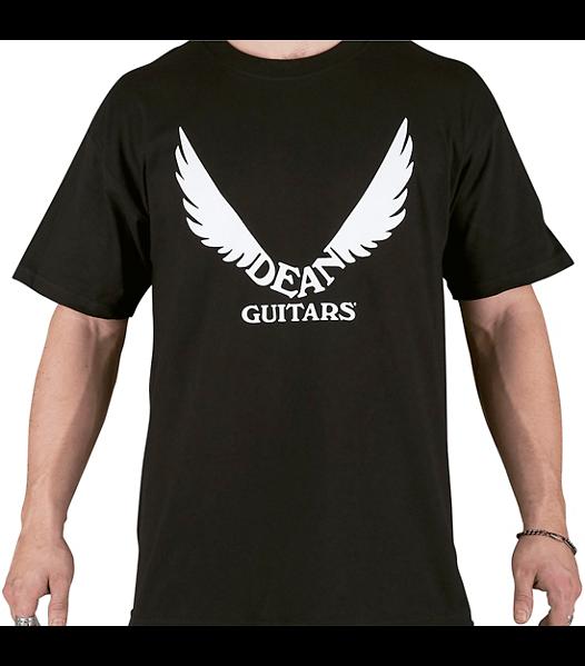 Dean Guitars Classic Wings Logo T-shirt 100% Cotton - Mens Size X-Large