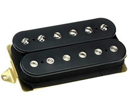 DiMarzio Tone Zone Guitar Pickup - Black - F Spaced