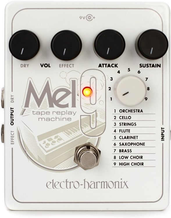 Electro-Harmonix Mel 9 Tape Replay Machine Guitar Effects Pedal