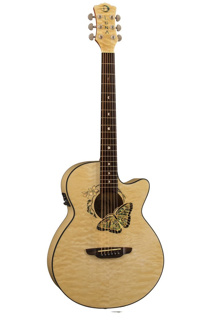 Fauna Butterfly Acoustic/Electric Guitar