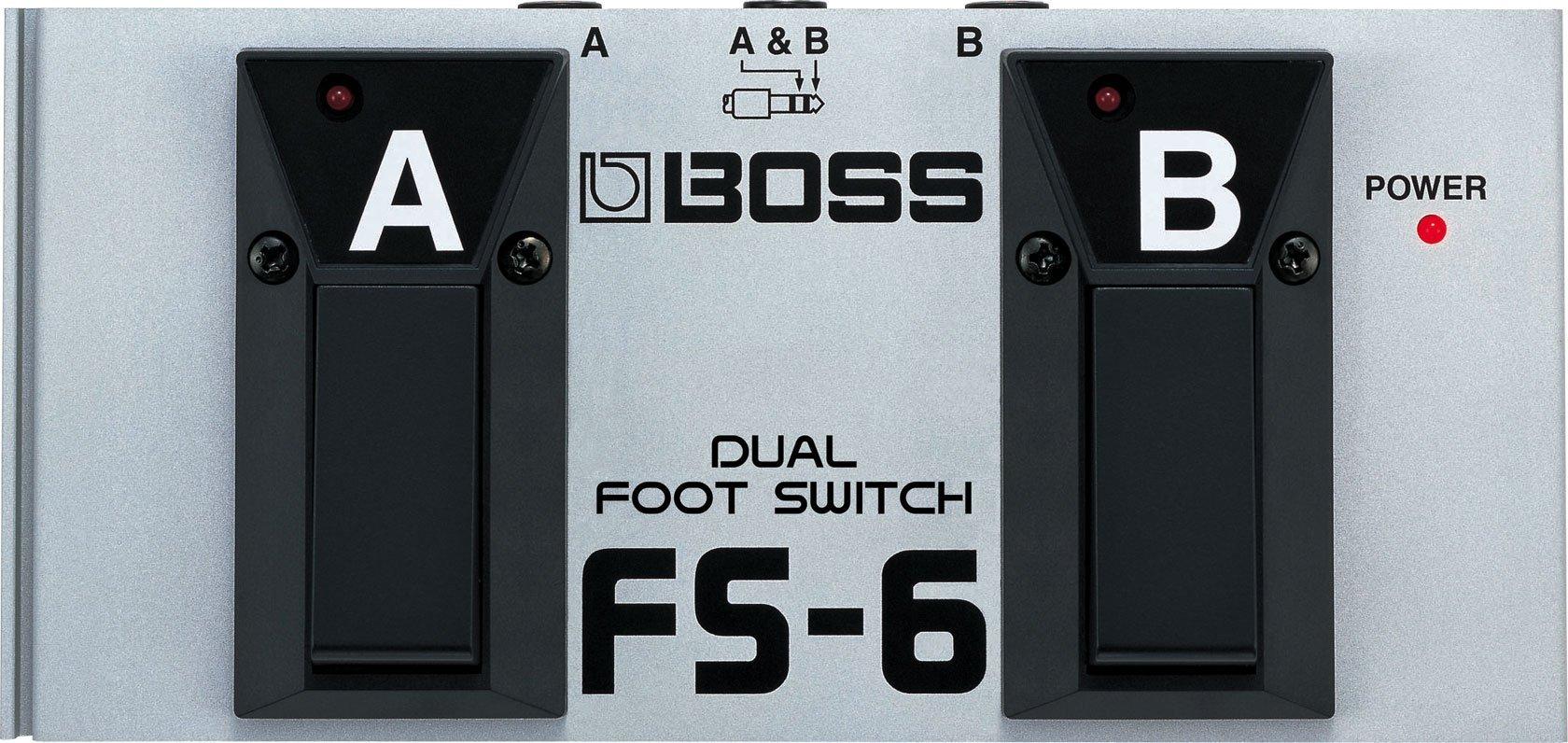 Boss FS-6 Dual Momentary/Latching Footswitch