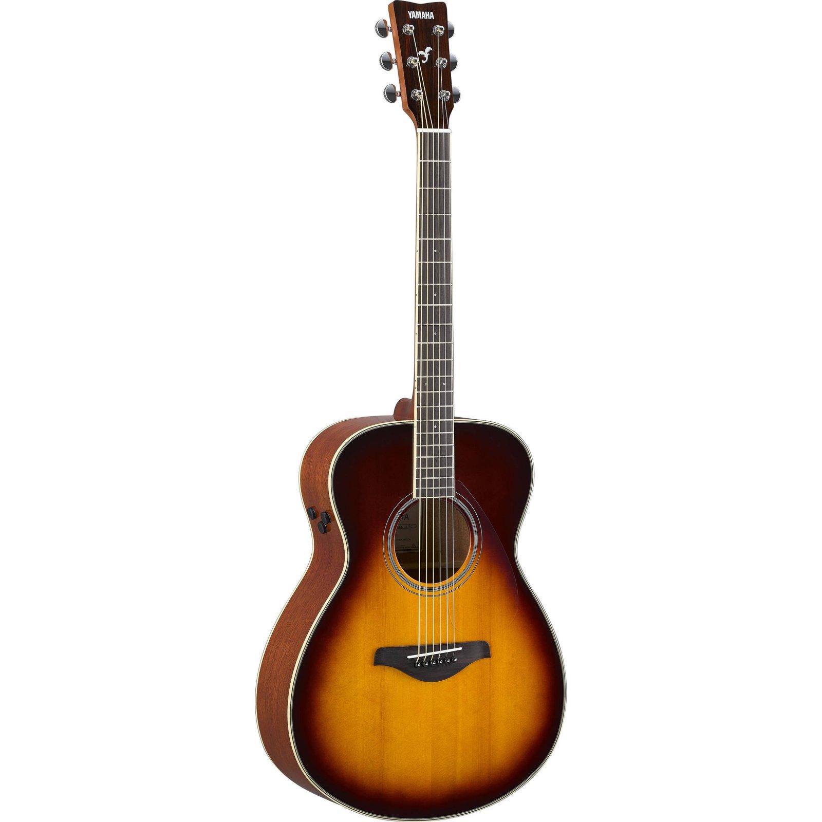 Yamaha FS-TA BS Transacoustic Acoustic-Electric Guitar Brown Sunburst