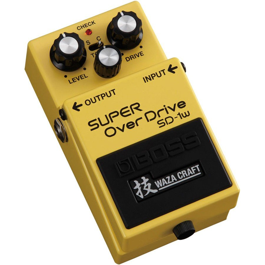 Boss SD-1W Waza Craft Super Overdrive Effects Pedal