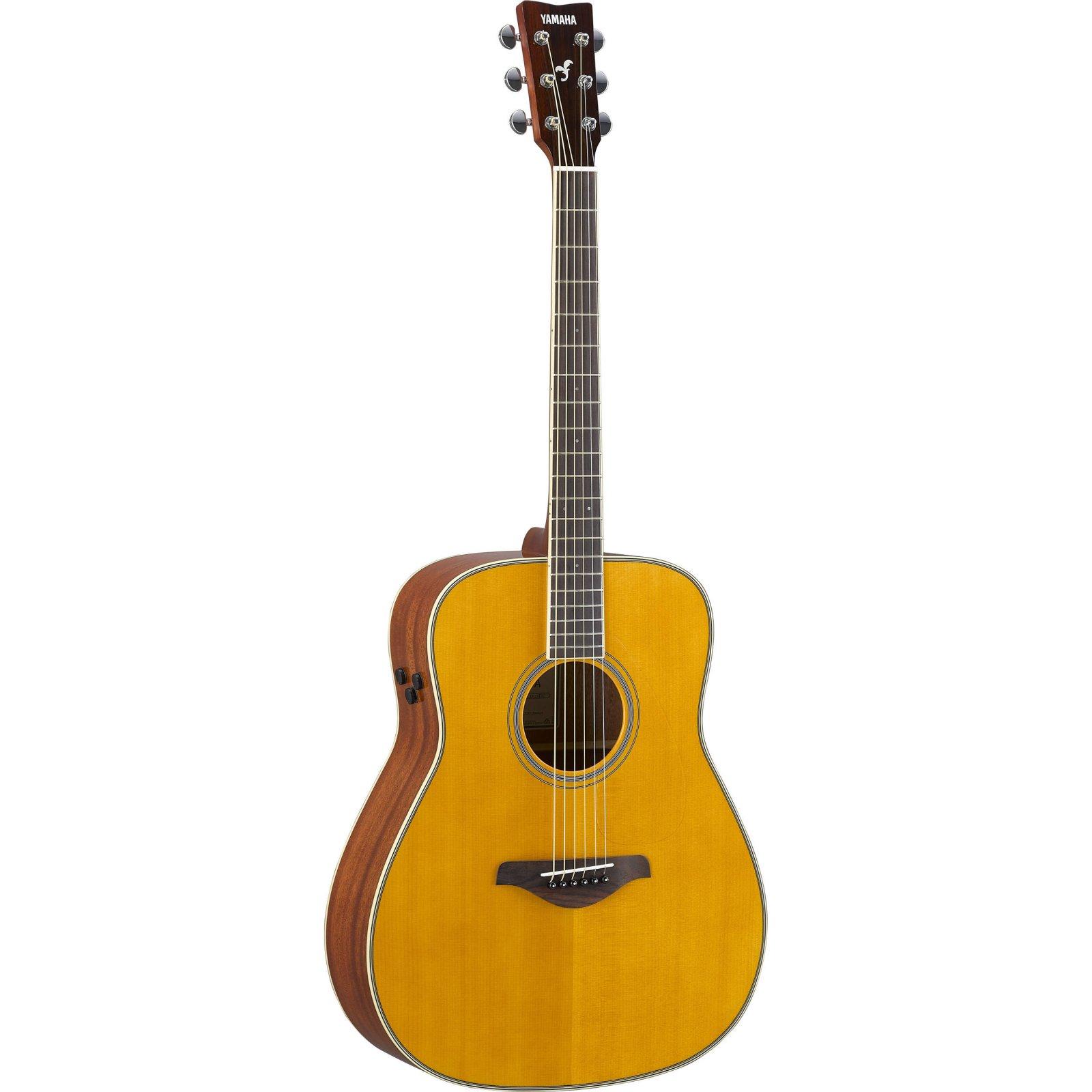 Yamaha FG-TA VT TransAcoustic Dreadnought Acoustic-Electric Guitar Vintage Tint