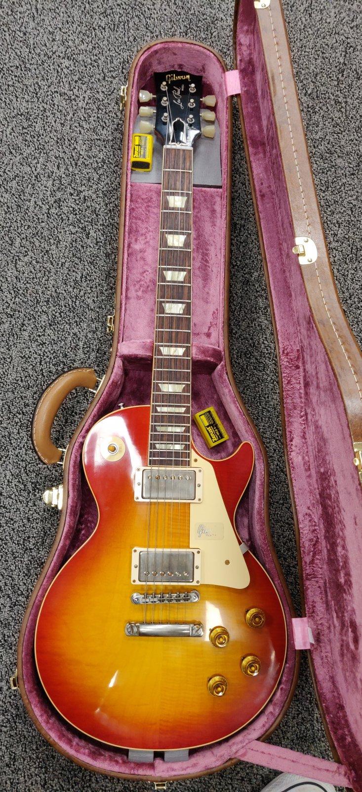 USED Gibson 2019 1958  Les Paul Standard Custom Shop w/case