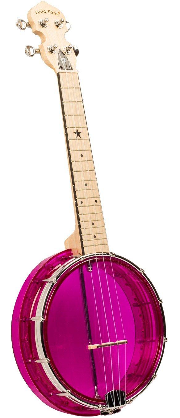 Gold Tone LGR Little Gem Banjo Ukulele Amethyst