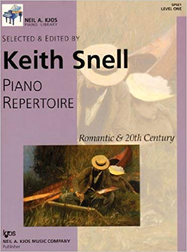 Piano Repertoire - Romantic & 20th Century - Level 1 by Keith Snell