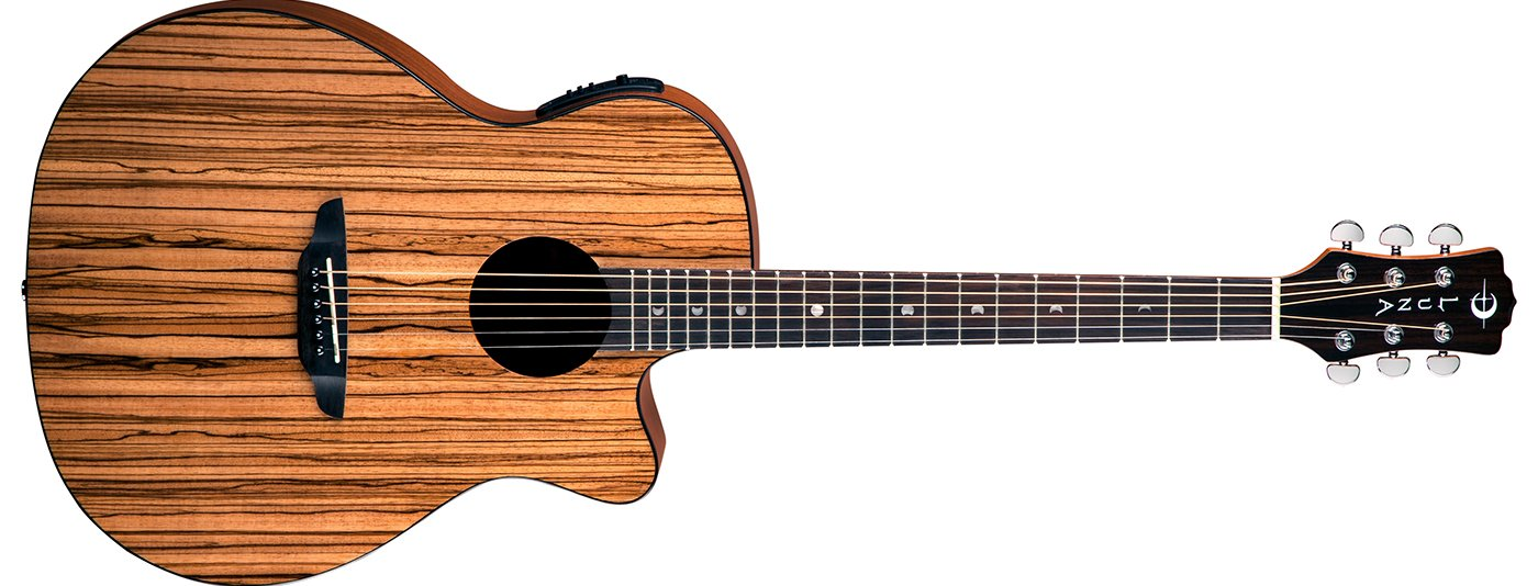 Gypsy Exotic Zebrawood A/E Gloss Natural