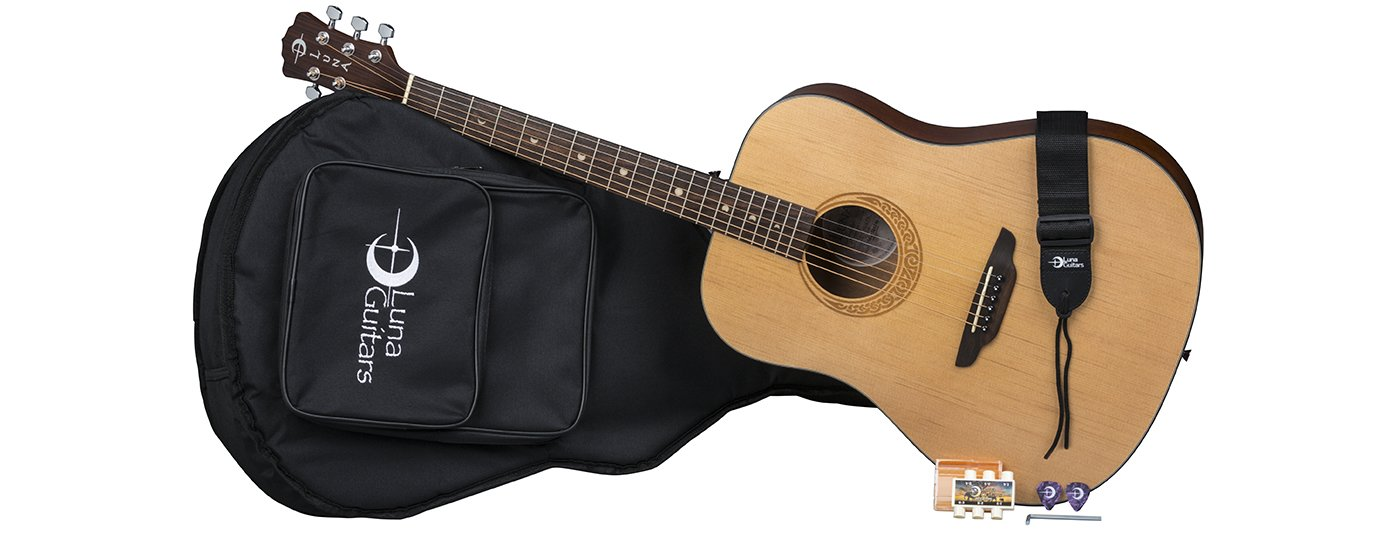 Gypsy Muse Dreadnought Pack w/Gig & Acc