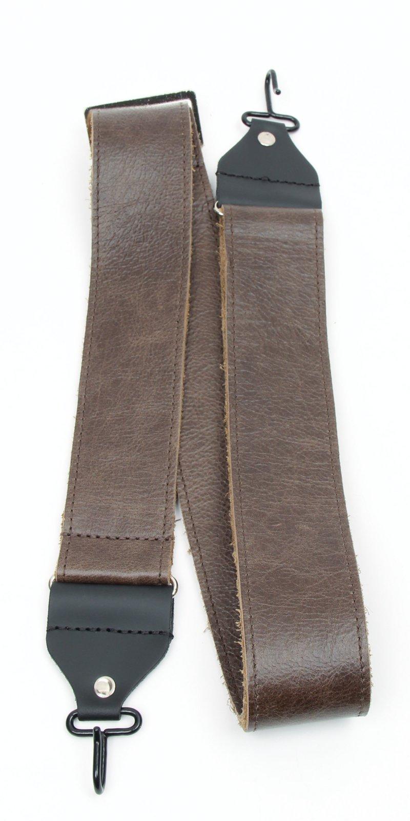 Henry Heller Banjo Strap Leather brown HBJCH-VBN